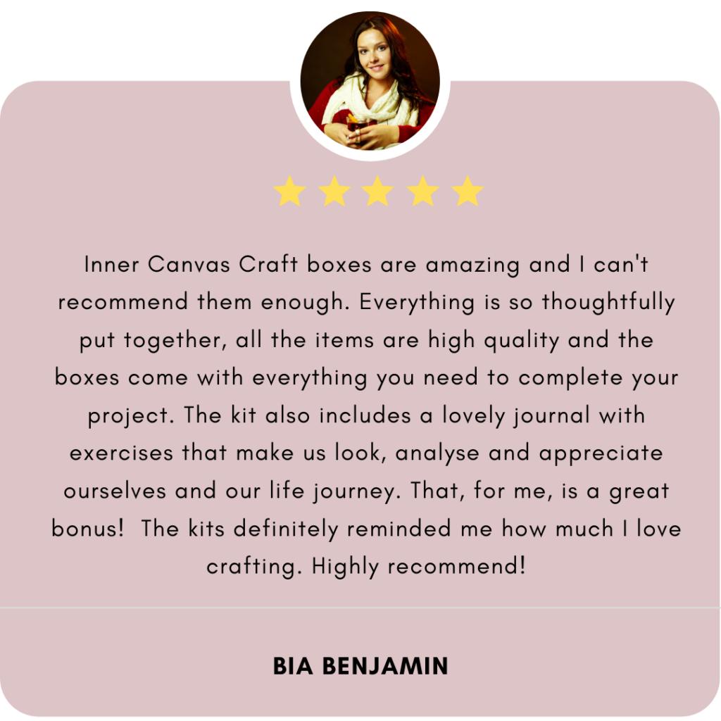Inner Canvas Testimonial Review 5 star